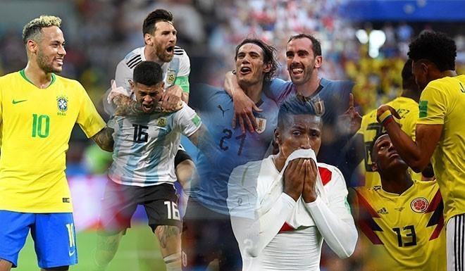 ¡Sudamérica, al frente!
