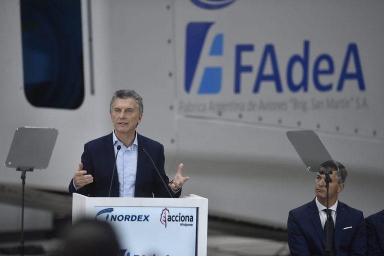 Macri: En 10 años no han construido ni un solo avión
