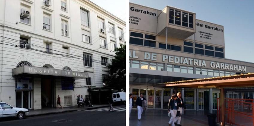 Los 9 millones de dólares que trasladó López irán al Garrahan y al Gutiérrez