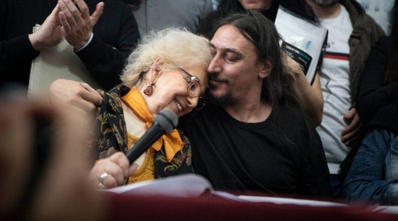 Abuelas de Plaza de Mayo presentó al Nieto 130 en conferencia de prensa