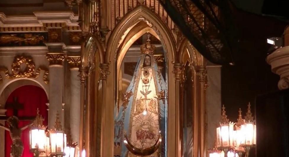 La Virgen del Valle llegó a la Catedral de Tucumán