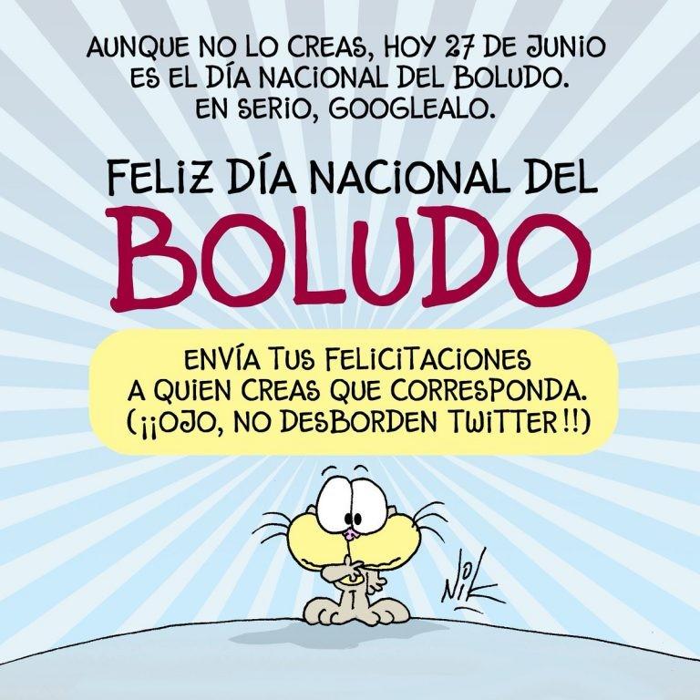 Por qué se celebra hoy el Día Nacional del Boludo