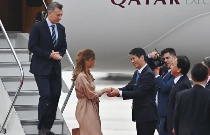 Mauricio Macri llegó a Japón para participar de la Cumbre del G-20