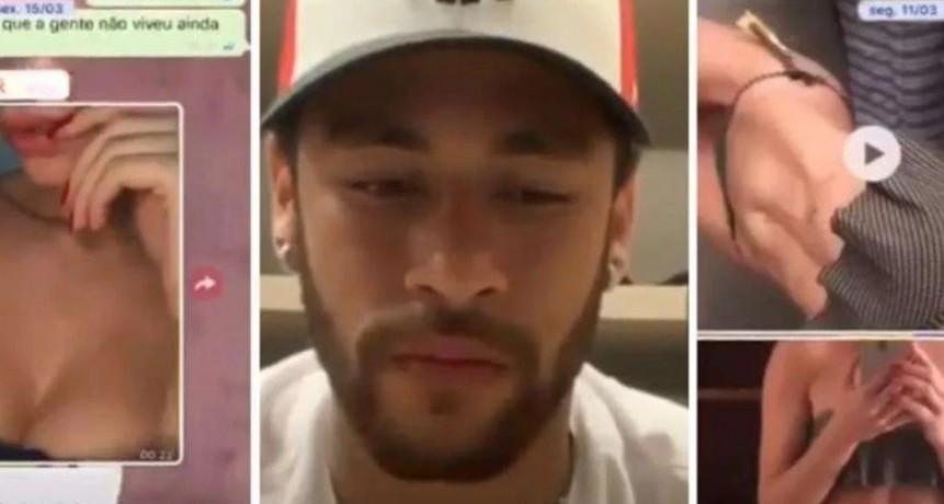 VIDEO / Un Neymar destrozado se defiende de las acusaciones de violación