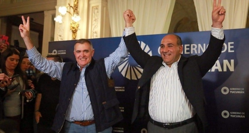 Manzur ganó en Tucumán y ratificó su respaldo a la fórmula Fernández-Fernández