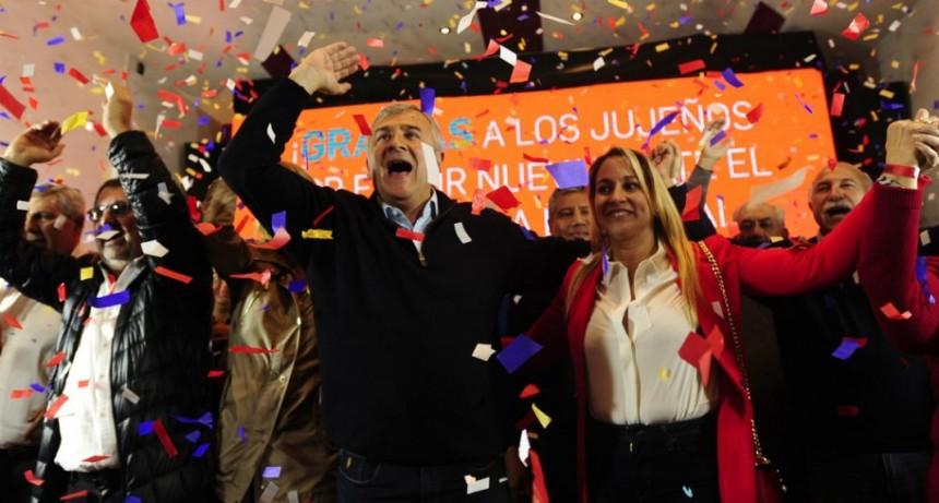 Gerardo Morales ganó Jujuy, le dio el primer triunfo a Cambiemos y le agradeció a Mauricio Macri
