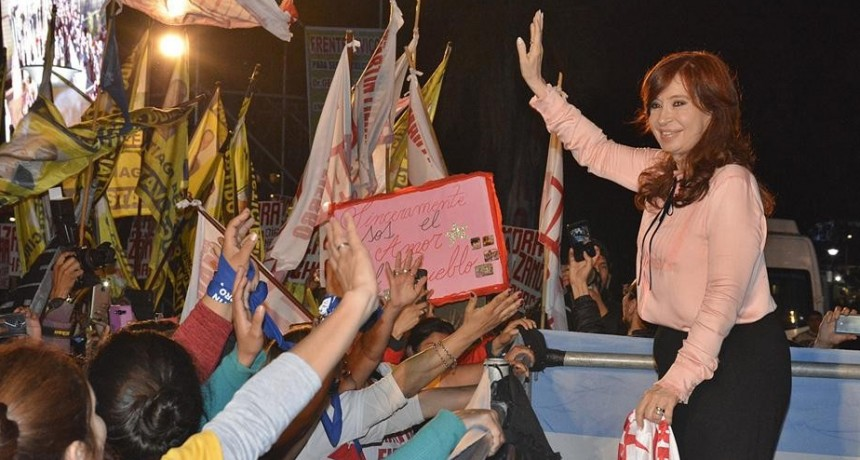 CRISTINA: Sentí la desesperación de la gente en Santiago cuando me pedían ¡Volvé!