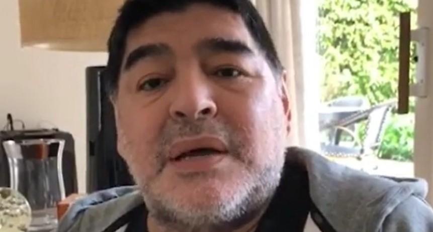 MARADONA: La gente que tiene Alzheimer se muere y yo no me estoy muriendo