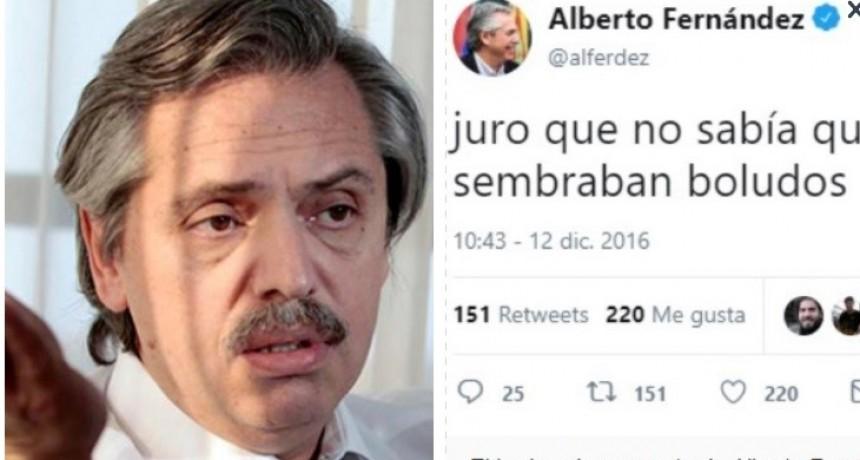 El incómodo momento de Alberto Fernández en San Juan: tuvo que explicar un viejo comentario en Twitter