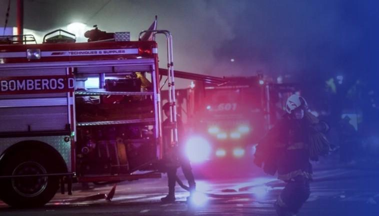Explosión e incendio en una perfumería de Villa Crespo