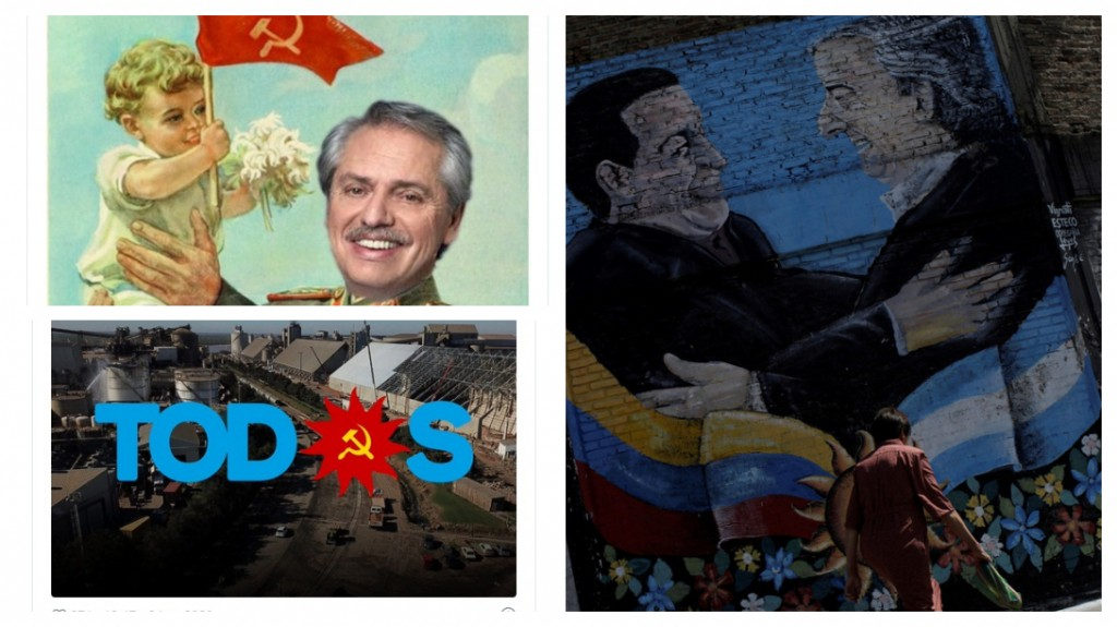 Entre Viva Perón y  Argenzuela: La expropiación de Vicentín reabre la grieta política en las redes
