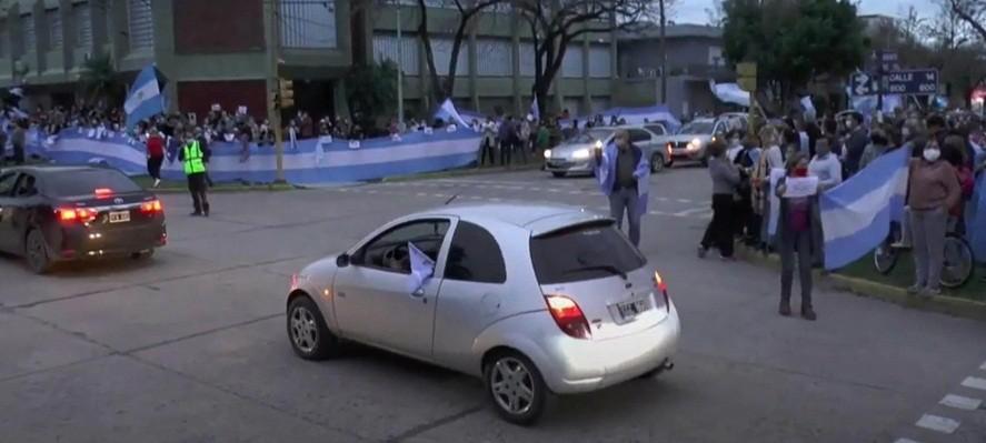 Vicentin: hubo protestas contra la intervención en la sede de la empresa en Santa Fe