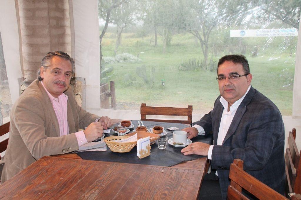 JALIL:  insiste con la visita de Fernández y que la Superliga se juegue en Catamarca