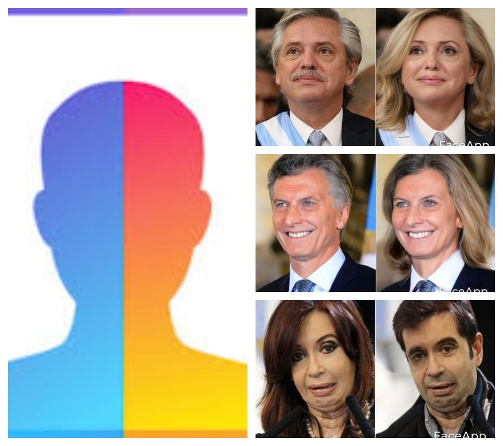 Volvió Face App y es furor por los políticos y Celebridades con sexo cambiado