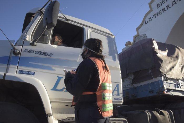 En Andalgalá, será obligatorio el testeo a camioneros