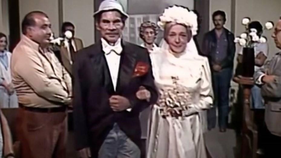 Filtran un capítulo prohibido del Chavo del 8: el casamiento de Don Ramón y la Bruja del 71