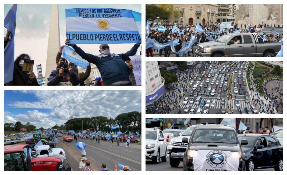 Contra la expropiación de Vicentin: así fue el banderazo en todo el país