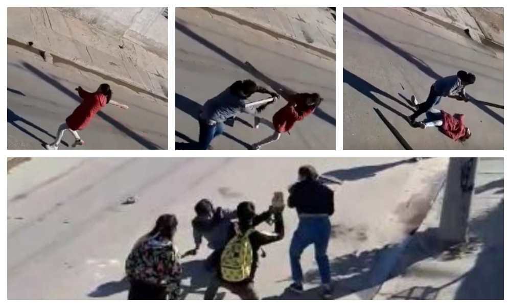 Casi matan a una mujer: Violenta agresión entre vecinos por el robo de una moto