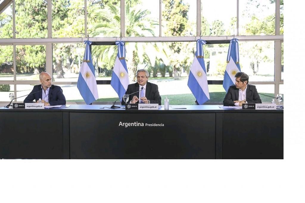 La cuarentena que viene: Fernández, Kicillof y Larreta restringirán la movilidad en AMBA