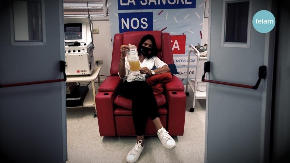 Seis provincias reciben donaciones de plasma para tratar a pacientes graves