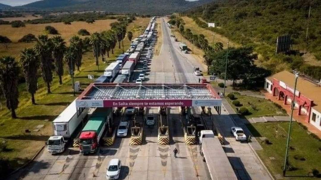 Camionero Salteño llegó a Catamarca con COVID-19 y lo obligaron a abandonar la provincia
