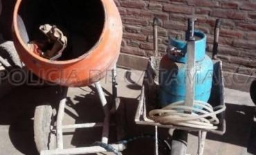 OPERATIVO EN EL SUR : Detienen a dos ladrones y secuestran elementos robados
