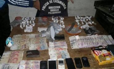 "Desarticulan ""kiosco"" de droga en la zona Sur de la Capital"