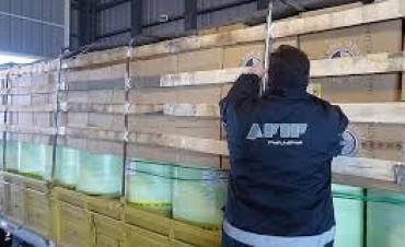 AFIP frustró contrabando de cigarrillos por $7,4 millones
