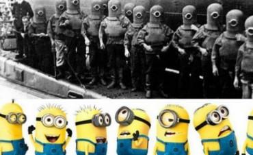 Vinculan a los Minions con el nazismo