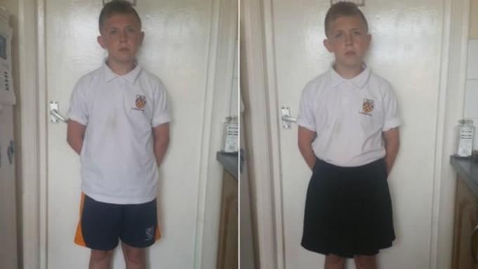 Les prohíben ir en pantalón corto al colegio... y ésta es su respuesta