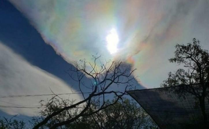 Fieles aseguran haber capturado la imagen de la Virgen del Cerro en el cielo