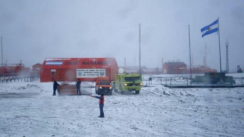 Frío récord: en la Antártida la temperatura llegó casi a los 100 grados bajo cero