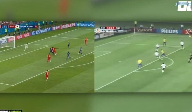 Lukaku hizo una de Rivaldo