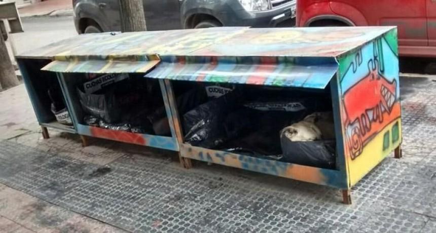 PARA IMITAR: Cuchas solidarias para los callejeritos