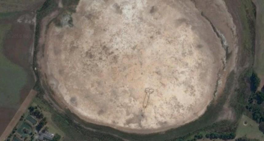 Insólito: apareció un pene gigante en Australia que se puede ver en Google Maps
