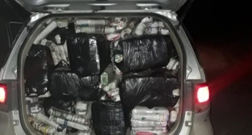 Gendarmería secuestró 700 kilos de hojas de coca