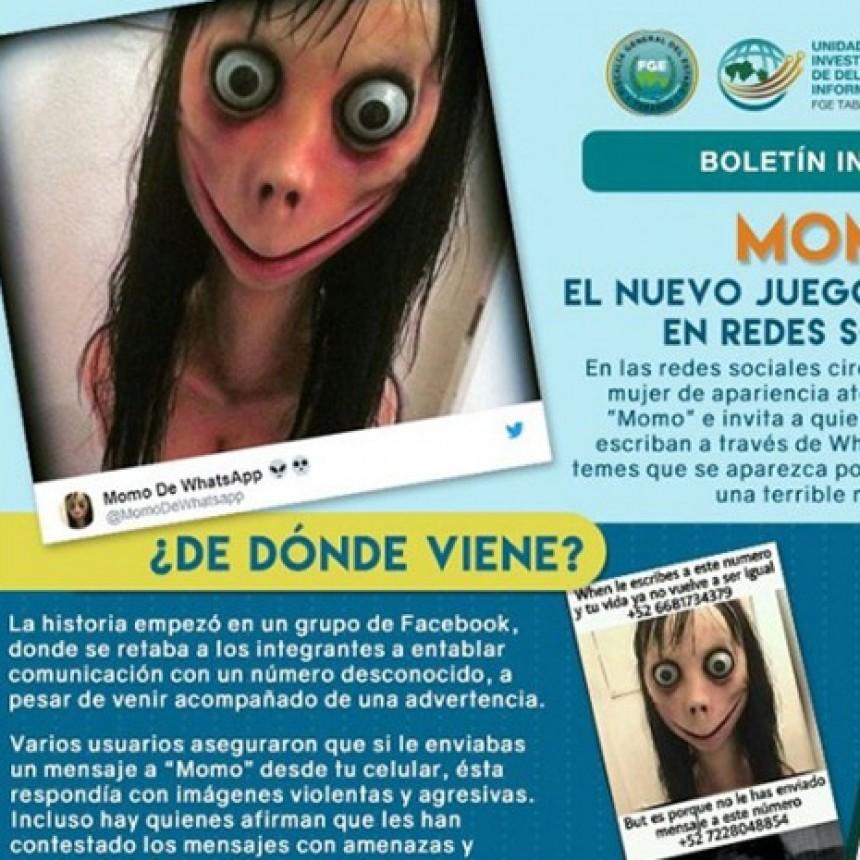 Crece el terror por el macabro Juego del Momo: se registran casos en Argentina