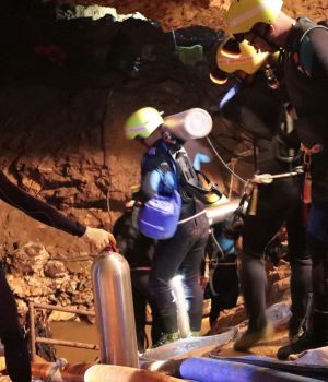 Final feliz: rescataron a todos los atrapados en la cueva de Tailandia