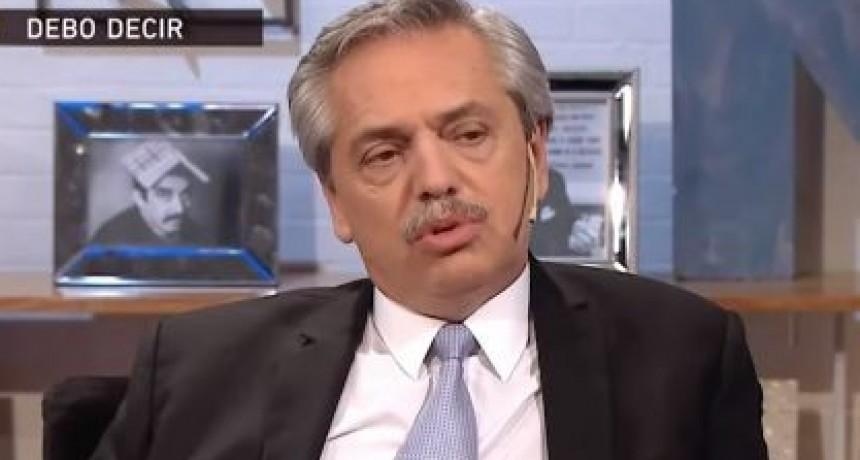 Alberto Fernández defendió la inocencia de Cristina Kirchner y justificó la fortuna de Báez