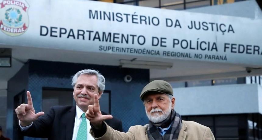 Alberto Fernández, tras su visita a Lula da Silva: Tiene todo el derecho de estar en libertad