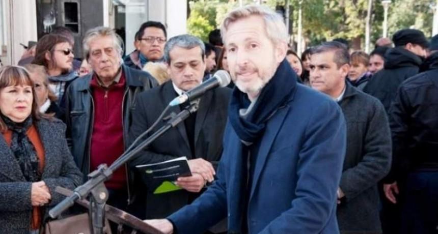 Peatonalización: inauguración, reclamo y mal momento para Frigerio
