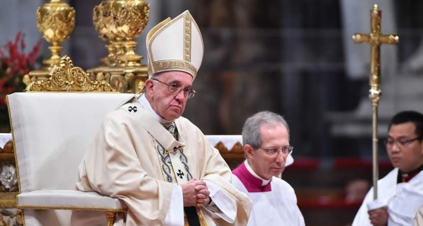 Francisco pidió el fin del sufrimiento de la gente en Venezuela