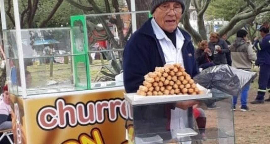 Falleció el reconocido churrero Don López