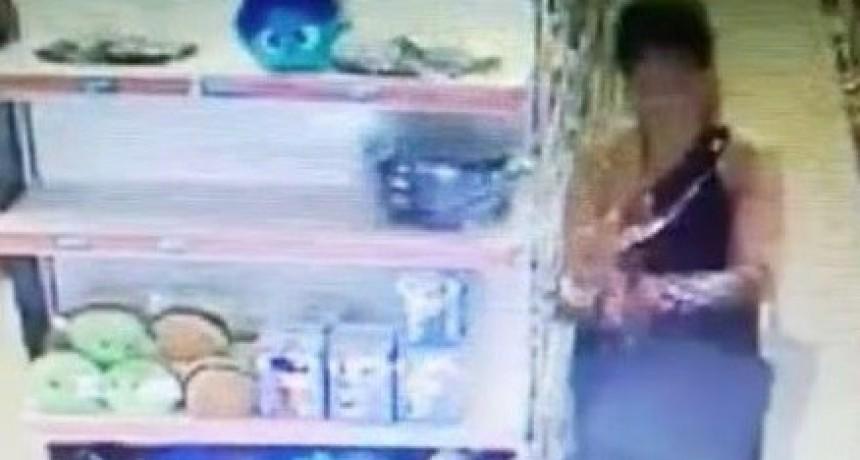 Fue sorprendida robando carne de un supermercado de la Capital