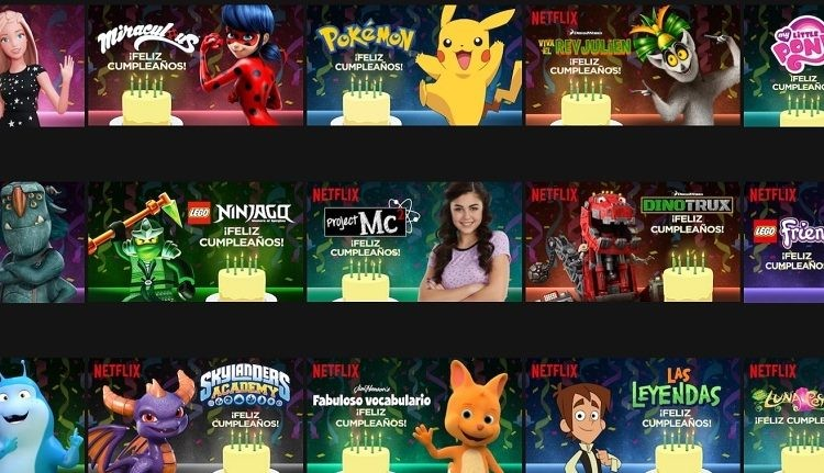 Netflix: cómo hacer que los personajes favoritos de los niños los saluden por el cumpleaños