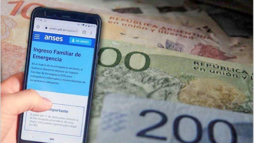 La titular de la ANSES habló sobre la posibilidad del pago de un cuarto IFE