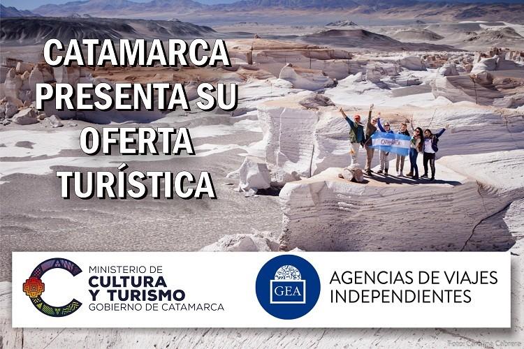 Catamarca presenta su oferta turística ante las agencias de viajes del Grupo GEA