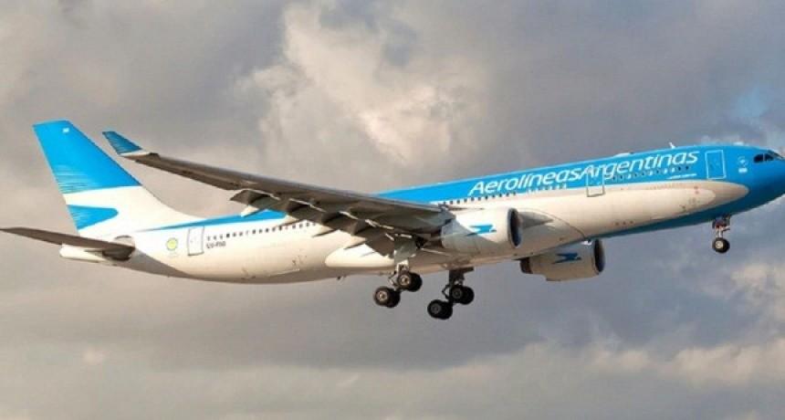 Aerolíneas Argentinas pagará sólo el 50% de los sueldos de junio