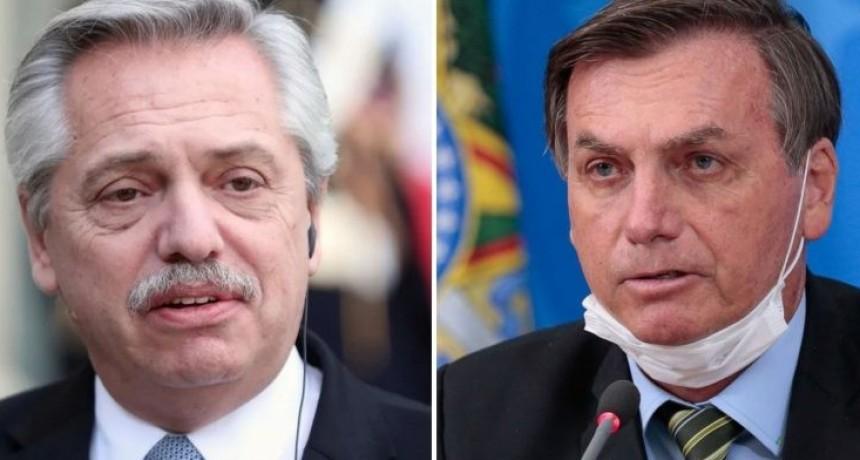 Alberto Fernández le escribió a Jair Bolsonaro tras dar positivo de Covid-19
