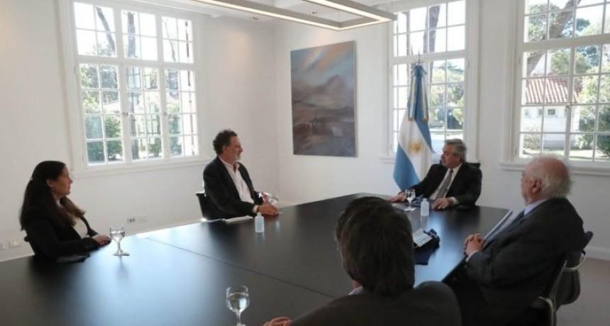 Alberto Fernández mantuvo una reunión clave con científicos que investigan una posible vacuna con suero equino